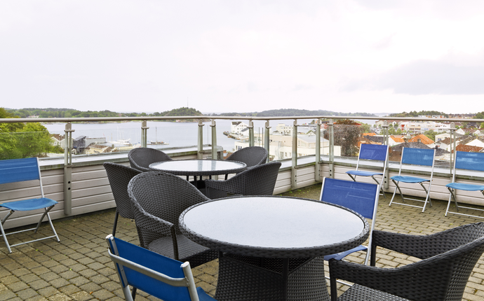 Scandic Grimstad - Terrasse