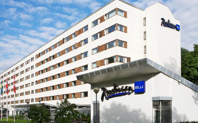 Radisson Blu Park Hotel, Fornebu - Fasade