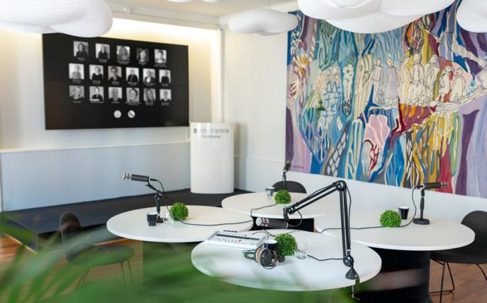 Polyteknisk Forening - Videokonferanse studio