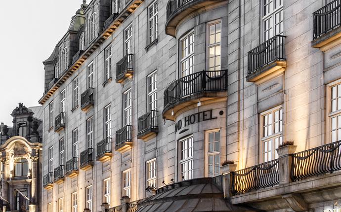 Grand Hotel Oslo - Fasade