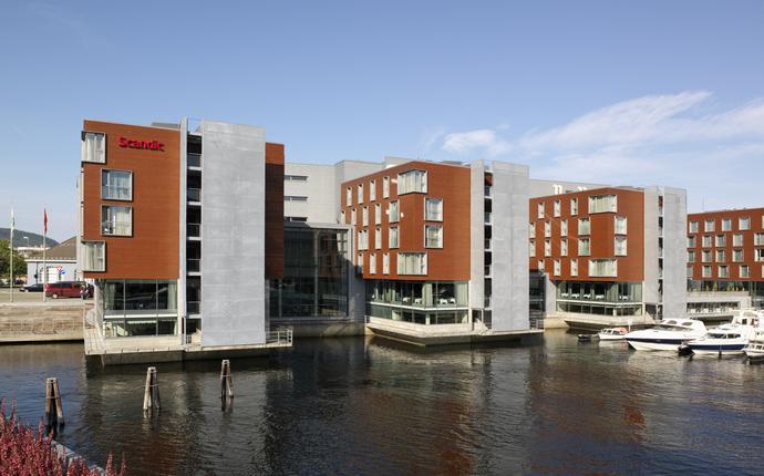 Scandic Nidelven - Fasade