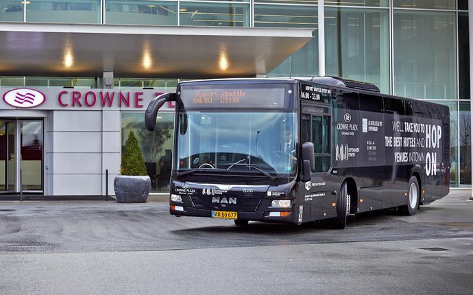 Crowne Plaza Copenhagen Towers - Kommer du fra lufthavnen? Hop på vores shuttle-service.