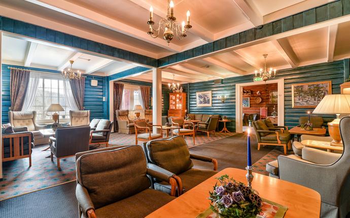 Straand Hotel - Blå salong