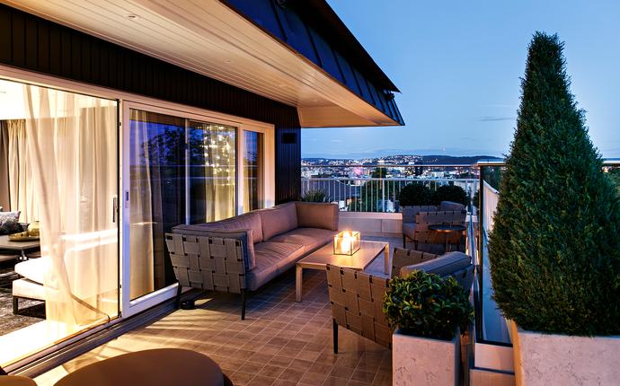 Saga Hotel Oslo - Utsikt Top Floor