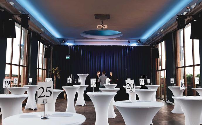 Stratos Konferanse & Selskapslokale - Toppetasjen - mingel til 280 personer