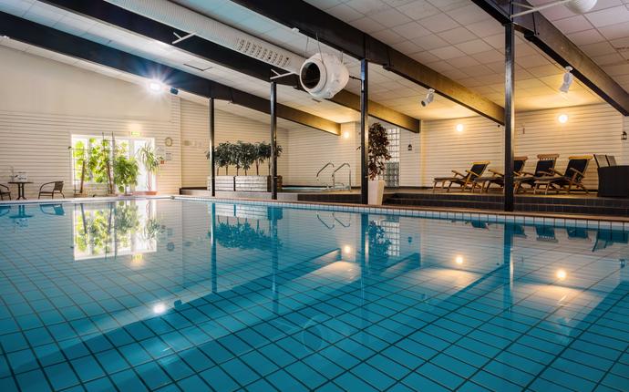 Unike Hankø Hotell & Spa - Basseng