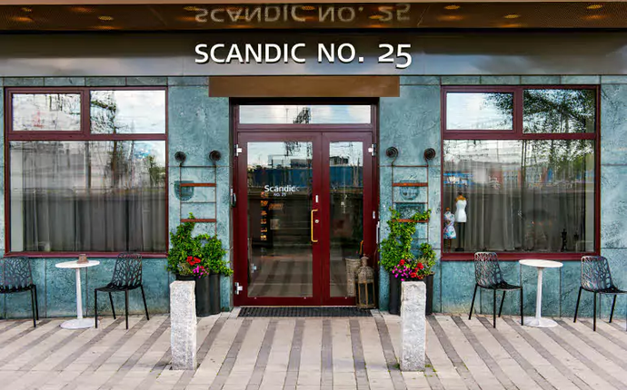 Scandic No 25 - Inngang