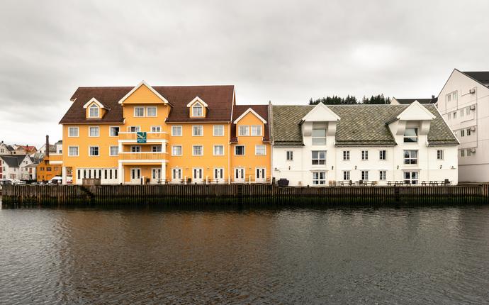 Quality Hotel Florø - Fasade