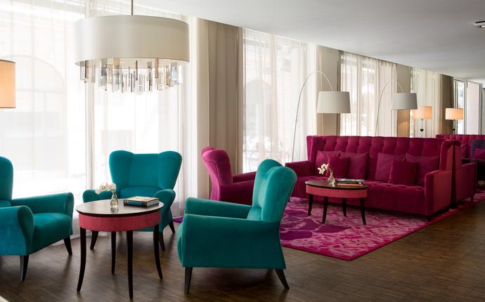 Renaissance Malmo Hotel - Lobby area.