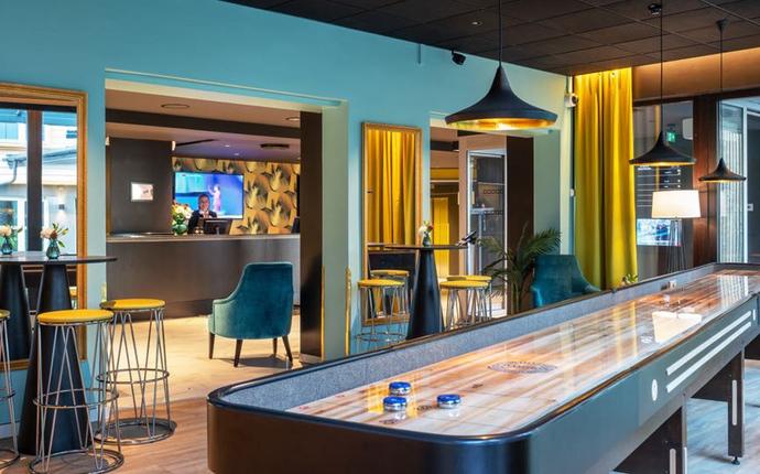 Thon Hotel Maritim - Shuffleboard