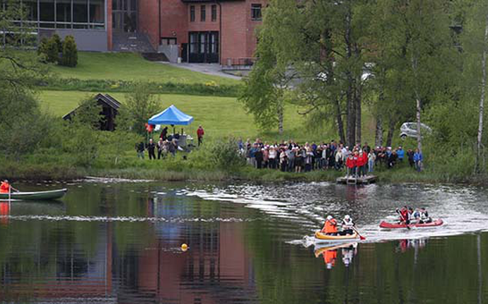 Sørmarka Konferansehotell - Syverudtjern sommer