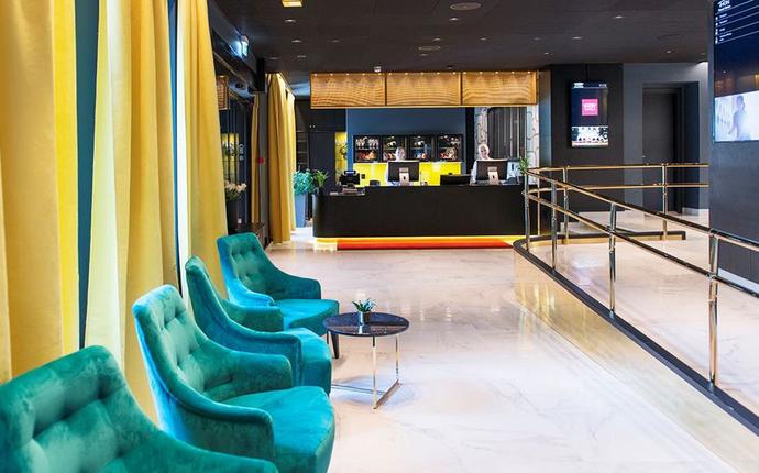 Thon Hotel Orion - resepsjon