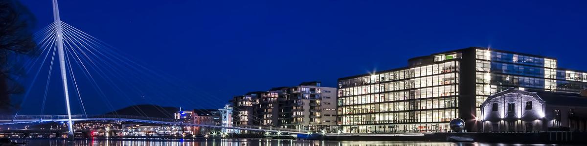 Ypsilon og biblioteket i Drammen