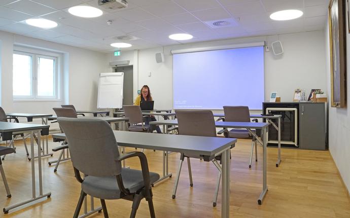 Ingeniørenes Hus Møtesenter - Blix med kapasitet inntil 10 deltagere med 1 meters avstand.