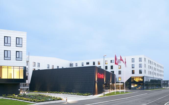Scandic Stavanger Forus - Fasade