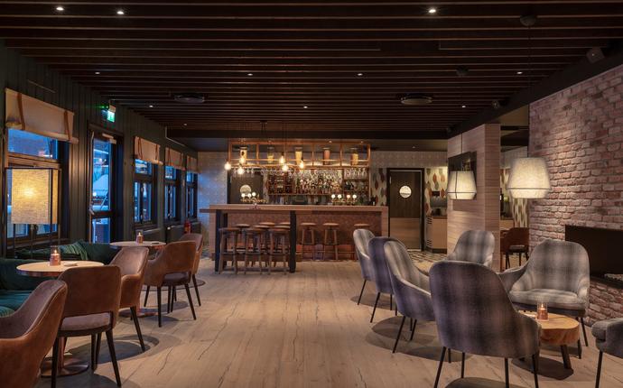 Sørmarka Konferansehotell - Ny flott bar & lounge i resepsjons område