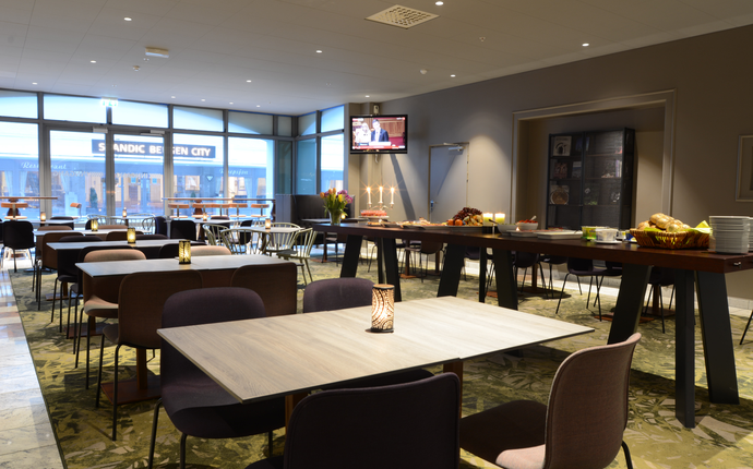 Scandic Bergen City - Restaurant