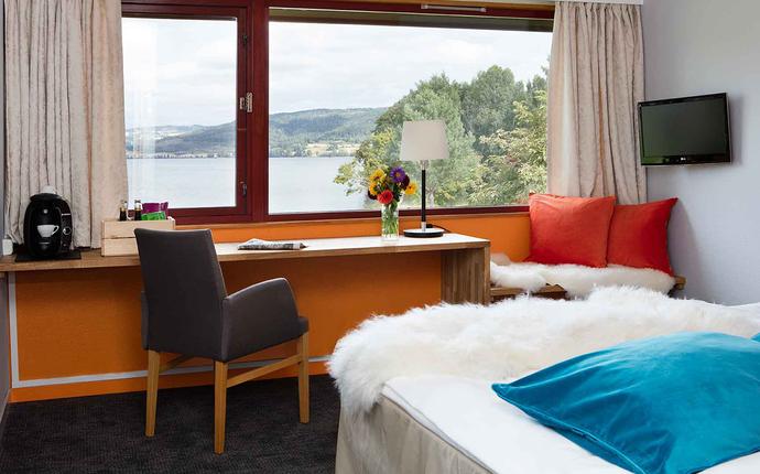 Thorbjørnrud Hotell - Rom med utsikt