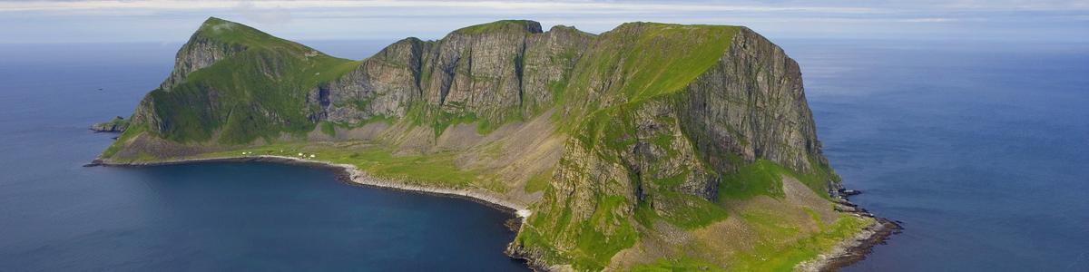 Utsikt fra fjellet Håen