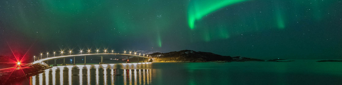 Nordlys over Sommarøy